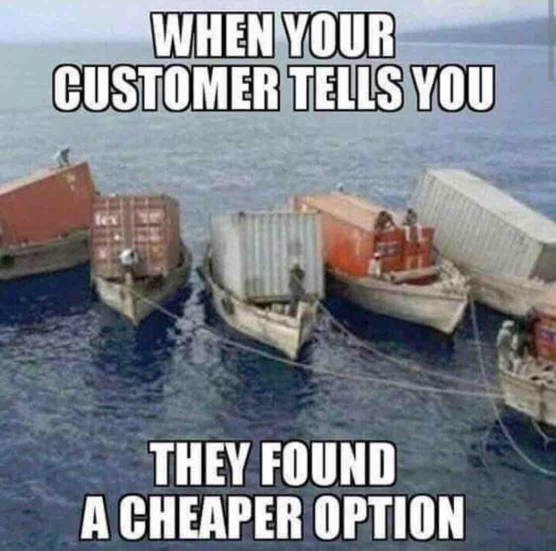 Cand unii clienti spun ca au gasit o solutie mai ieftina